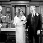 receiving the wedding contract