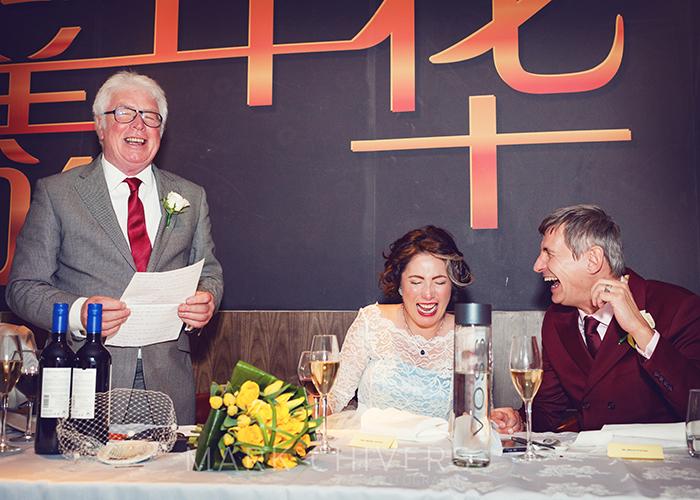 Wedding photography at Shikumen Chinese restaurant